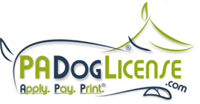 logo for PA Dog License dot com