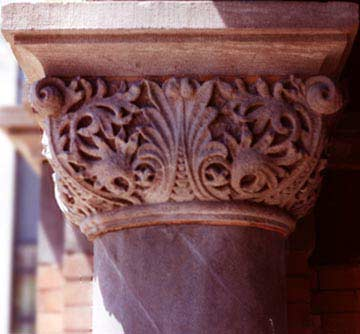 Courthouse Porch Column